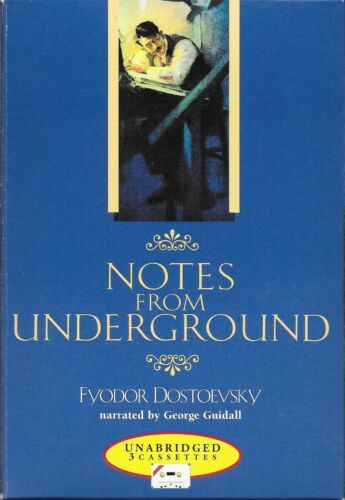 Notes From Underground - Dostoevsky Cassette Audiobook Unabridged George Guidall