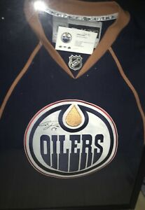 Signed Oilers Jersey by Ales Hemsky!