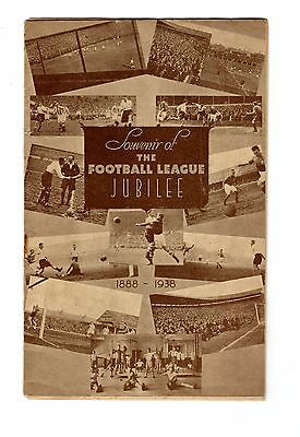 Crystal Palace v Brighton 20.8.1938 Football League Jubilee match 1888-1938