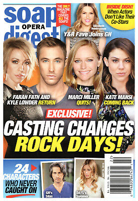 Soap Opera Digest Magazine - May 28, 2018 - Days of Our Lives, Bryton James