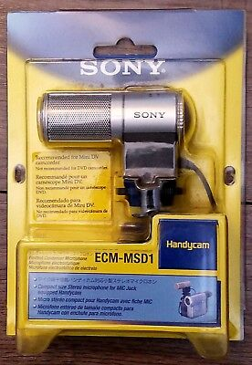 VINTAGE! Sony ECM-MSD1 Stereo Gun Zoom Microphone - for Camcorders!!