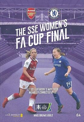 WOMEN'S FA CUP FINAL 2018 Arsenal Ladies v Chelsea Ladies