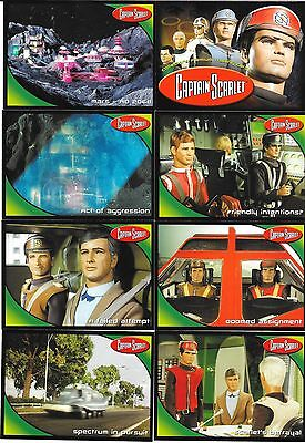 MINT SET OF CAPTAIN SCARLE TRADING CARDS