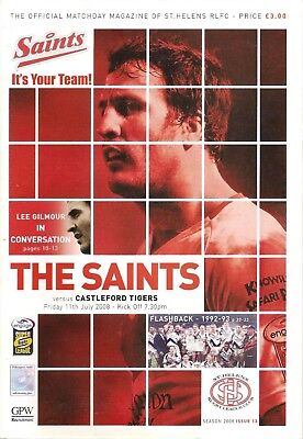 St Helens v Castleford - Super League 2008
