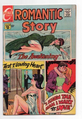 CHARLTON COMICS  ROMANTIC STORY  108  1970  MOD ROMANCE