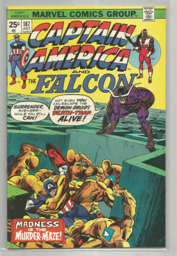 CAPTAIN AMERICA # 187 * MARVEL COMICS * 1975