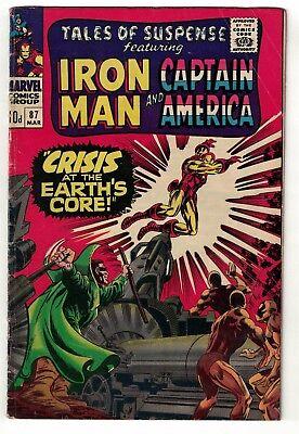 Marvel comics Tales of suspense 87 Moleman   cover VG 4.5