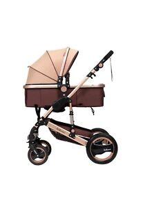 Golden stroller for sale