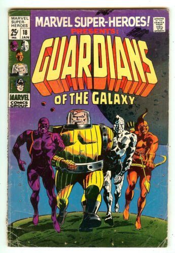 Marvel Super-Heroes 18   Origin & 1st Guardians Of The Galaxy