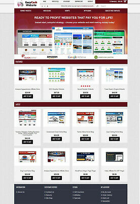 Turnkey Websites Selling Business Script Autopilot Free Hosting Installation