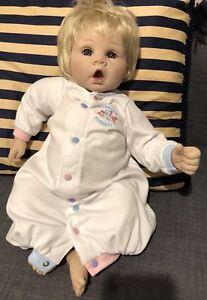 LEE MIDDLETON LITTLE SWEETHEART BLONDE/BLUE PLAY DOLL