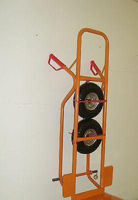Orange Profi Sackkarre Transportkarre Stapelkarre 250 kg Luftbereift