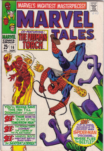 Marvel Tales #16 vf+ to vf/nm