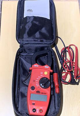 Mac Tools Em-410 Acdc Digital Amp Clamp-on Meter