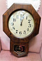 Howard Miller Wall Clock 612-472  ~ 21Tall By 14 Wide