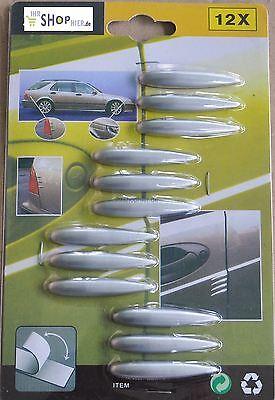 Schutzleisten Streifen 12Stück Silber für Mercedes-Benz AMG CLS E G GL GLK M R S