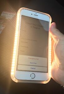 Apple iPhone 6 Plus CASE ONLY Lights up With Glamour Effect