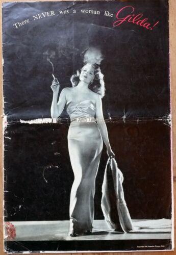 GILDA, Rita Hayworth, Glenn Ford, 1946, Pressbook #682