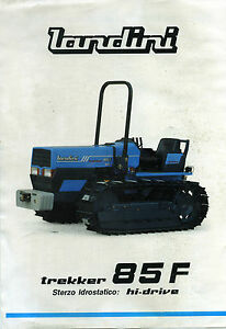 PUBBLICITA-039-WERBUNG-034-LANDINI-TRATTRICE-MOD-TREKKER-85-F-STERZO-HI-DRIVE-034