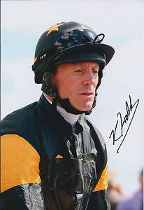 Kieren-FALLON-SIGNED-Autograph-Photo-AFTAL-COA-Champion-Jockey-Gold-Cup-Winner