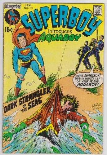 Superboy #171 (Jan 1971) VG+