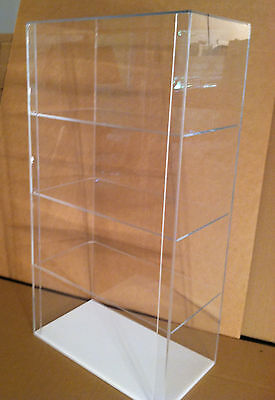 Special Acrylic Counter Top Display Case 12 X 7 X 22.5 Different Shelf Spaces