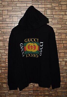 Gucci oversized sweatshirt Gucci vintage logo hoodie size L