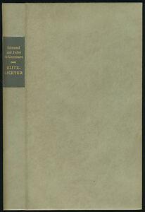 Goncourt: Blitzlichter (1989). Die andere Bibliothek, VA in Ganzleder