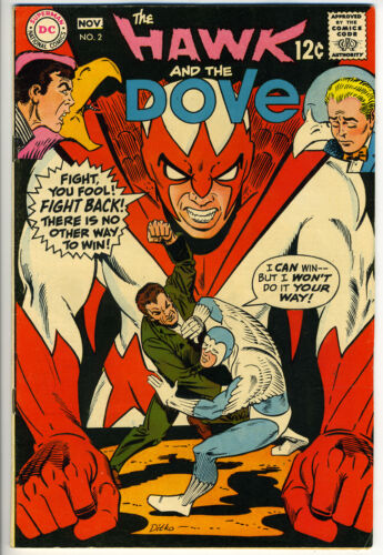 HAWK AND THE DOVE #2 - Ditko