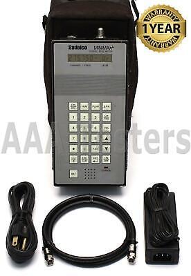 Sadelco Minimax 800 Signal Level Catv Meter Mini Max Range 5 - 872 Mhz