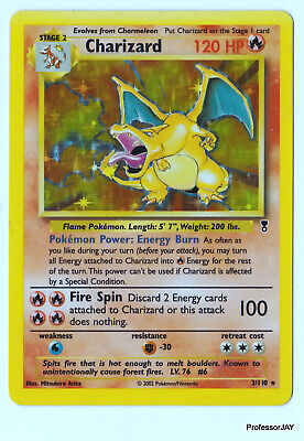 Pokemon Cards - Charizard 3/110 - 2ND GEN LEDGENDARY COLLECTIONS - HOLO - TCG