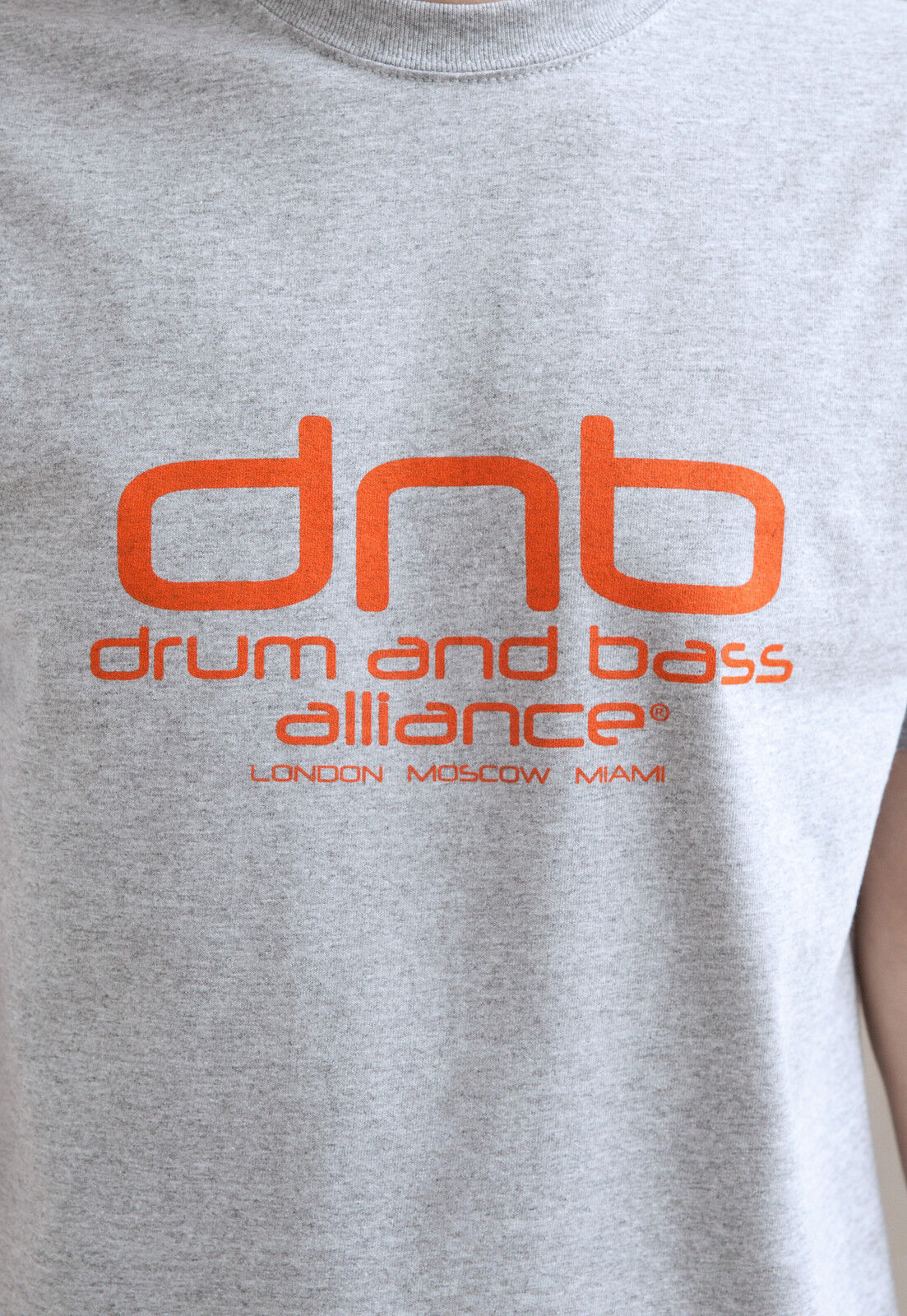 Drum and Bass Alliance T Shirt DJ & n DnB Amen Music Producer Junglist Mens Tee