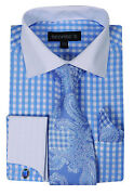 Mens French Cuff Dress Shirts