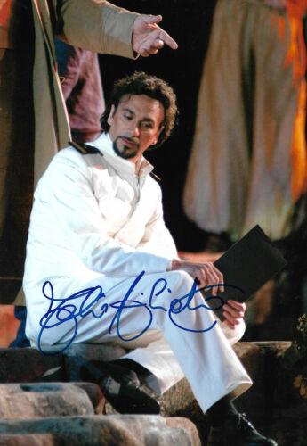 Fabio Armiliato Opera signed 8x12 inch photo autograph