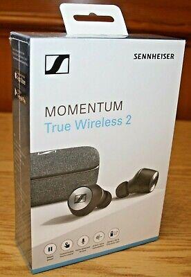 Sennheiser MOMENTUM True Wireless 2 Earbuds - Black 508674 Brand New Sealed