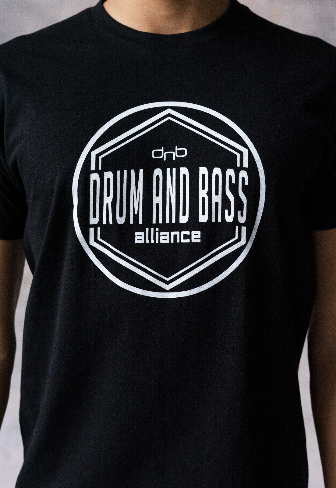 Drum and Bass Alliance T Shirt DnB DJ Jungle & Neurofunk Junglist Amen Mens Tee