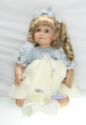 VIRGINIA TURNER Laura Bea (Blonde Hair) No.103 Limited Edition Vinyl Doll  26""