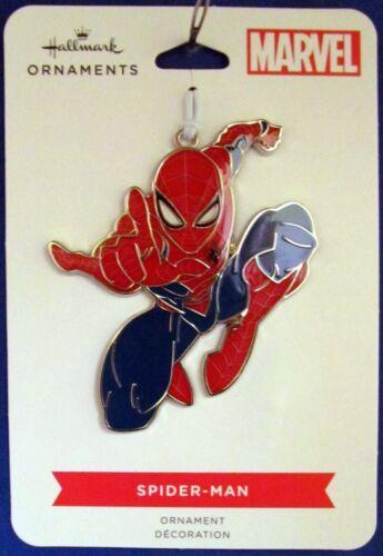 2021 Hallmark Flat Metal Ornament - SPIDER-MAN - MARVEL Comics