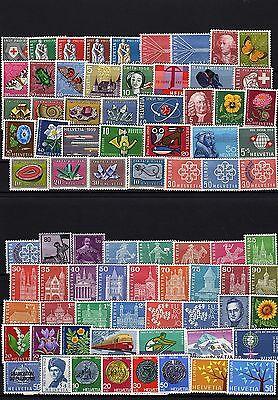 Lot Schweiz *  - aus 1957 - 1963  ( 22651-o1 )