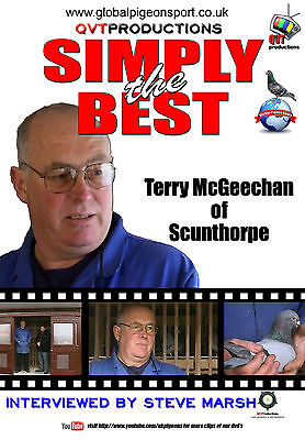 TERRY MCGEECHAN of Scunthorpe - Racing Pigeon DVD