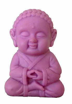 Pocket Buddha Wisdom Purple Buddhism Figurine Toy