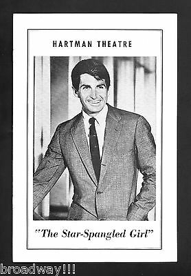 "George Hamilton ""STAR-SPANGLED GIRL"" Neil Simon 1968 Columbus, Ohio Playbill"