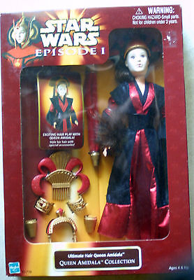 Star wars Episode 1 Queen Amidala Ultimate Hair style 12