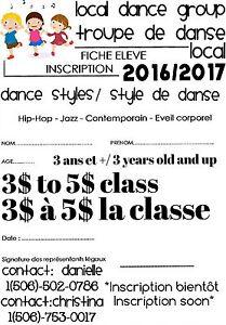 Local Dance Troup/Group de danse local