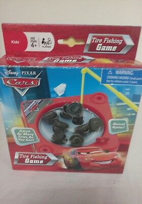 Tire Fishing Game - Disney Pixar Cars The World of Cars Tire Fishing Game