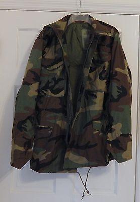 Original U.S. Military M-65 Field Jacket - Size Small/Long