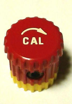 Tektronix 366-1031-03 Small Red Cal Knob With Arrow