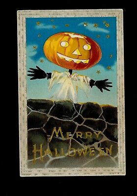 Halloween Vintage Postcard - Barton & Spooner](Halloween Vintage Postcard)