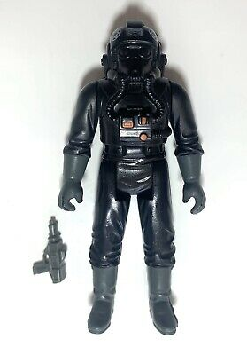 vintage Star Wars Tie Fighter Pilot Excellent Complete