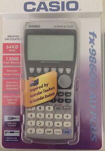 Casio fx-9860G AU PLUS scientific  calculator Blackwood Mitcham Area Preview